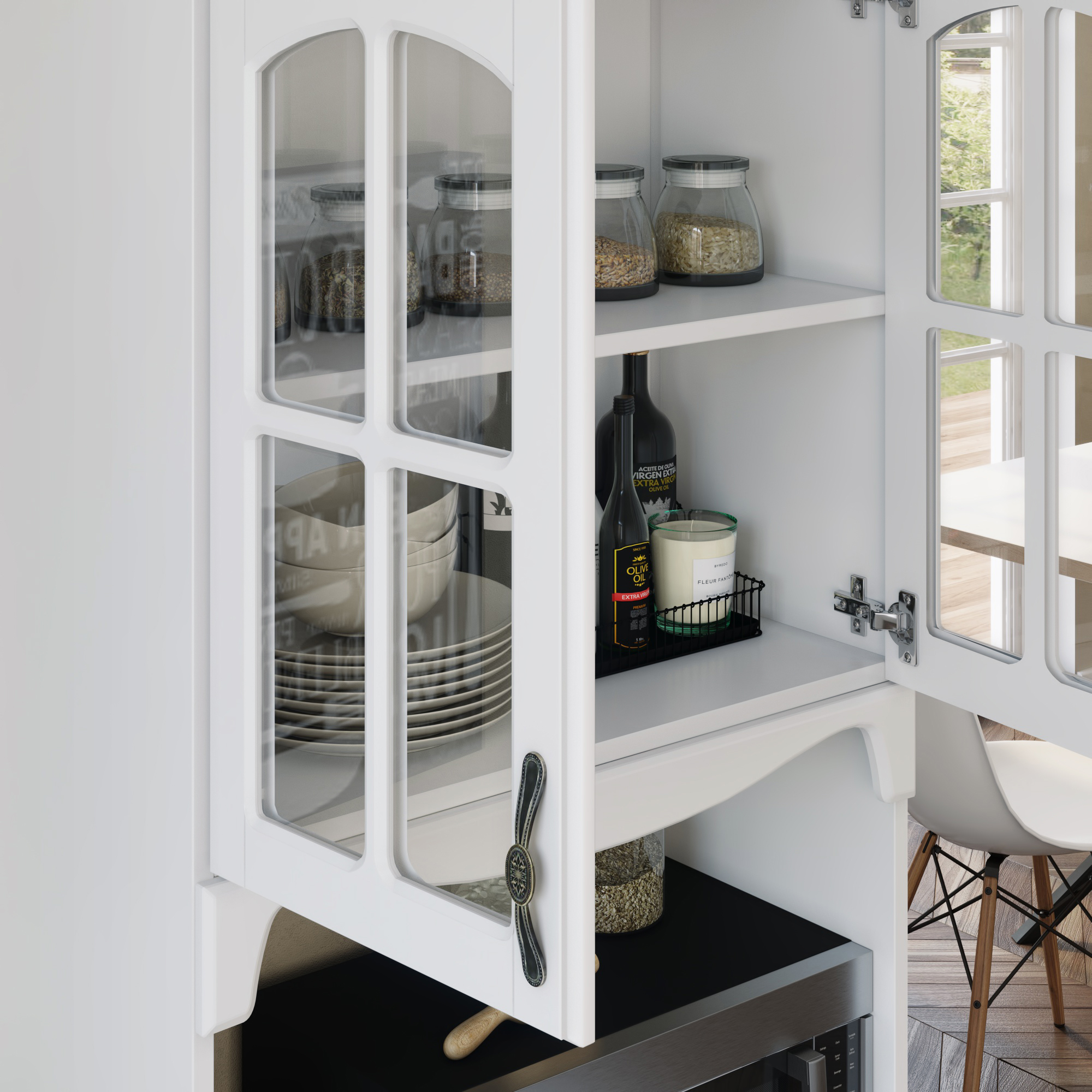 Kitchen Storage Cabinet White Kitchen Pantry