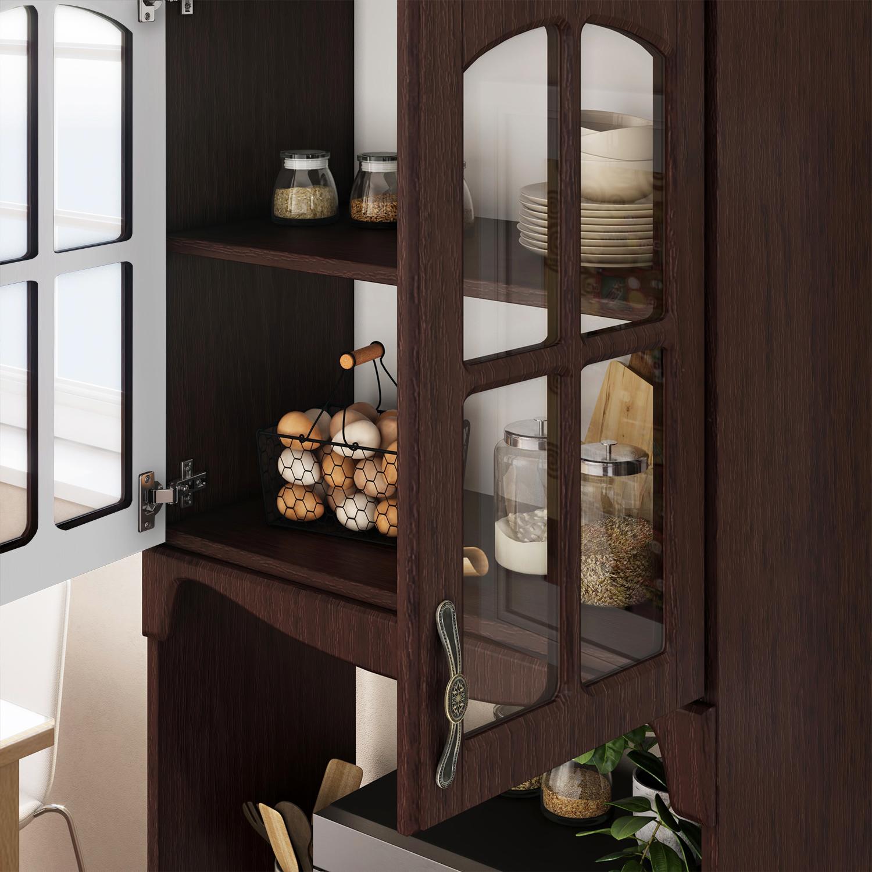 Kitchen Storage Cabinet Espresso Kitchen Pantry