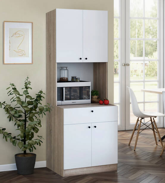 Kitchen Storage Cabinet White